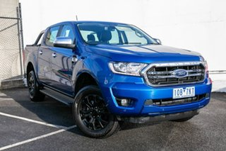 2018 Ford Ranger PX MkIII 2019.00MY XLT Pick-up Double Cab Blue 10 Speed Sports Automatic Utility.