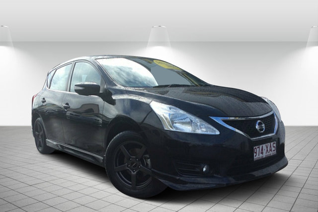 Used Nissan Pulsar C12 Series 2 ST-L, 2016 Nissan Pulsar C12 Series 2 ST-L Black 1 Speed Constant Variable Hatchback