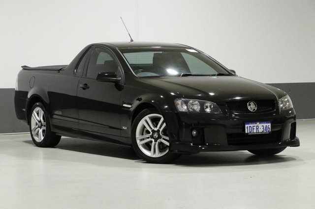Used Holden Commodore VE MY09.5 SS, 2009 Holden Commodore VE MY09.5 SS Black 6 Speed Manual Utility