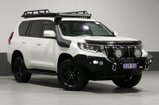 Used Toyota Landcruiser Prado GDJ150R MY18 GXL (4x4), 2018 Toyota Landcruiser Prado GDJ150R MY18 GXL (4x4) White 6 Speed Automatic Wagon