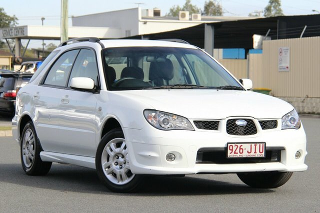 Used Subaru Impreza S MY06 AWD, 2006 Subaru Impreza S MY06 AWD White 4 Speed Automatic Hatchback