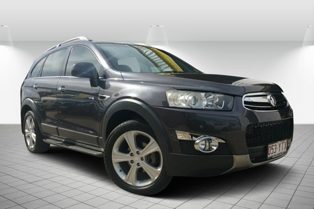 Used Holden Captiva CG Series II MY12 7 AWD LX, 2012 Holden Captiva CG Series II MY12 7 AWD LX Grey 6 Speed Sports Automatic Wagon