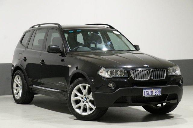 Used BMW X3 E83 MY09 xDrive 20d Lifestyle, 2009 BMW X3 E83 MY09 xDrive 20d Lifestyle Black 6 Speed Auto Steptronic Wagon