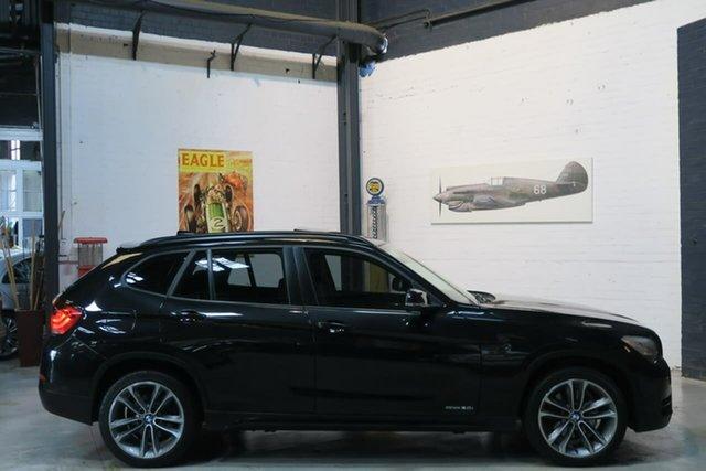 Used BMW X1 E84 LCI MY0713 sDrive20i Steptronic, 2013 BMW X1 E84 LCI MY0713 sDrive20i Steptronic Black 8 Speed Sports Automatic Wagon