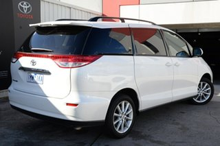 2018 Toyota Tarago ACR50R GLX Crystal Pearl 7 Speed Constant Variable Wagon.