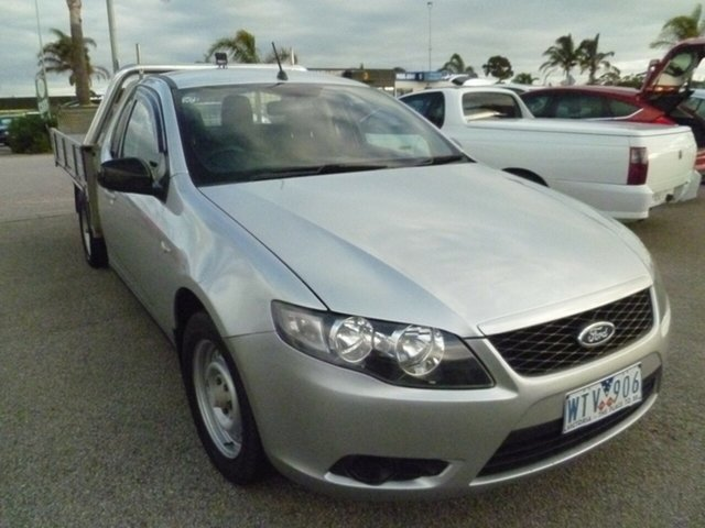 Used Ford Falcon FG Super Cab, 2008 Ford Falcon FG Super Cab Silver 4 Speed Sports Automatic Cab Chassis