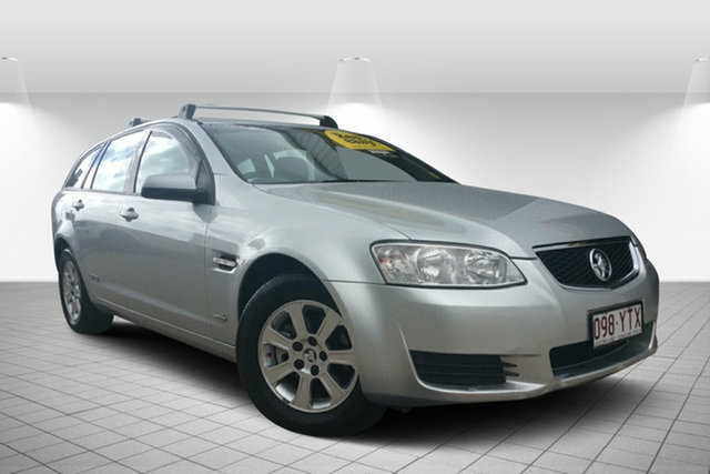 Used Holden Commodore VE II MY12 Omega Sportwagon, 2011 Holden Commodore VE II MY12 Omega Sportwagon Silver 6 Speed Sports Automatic Wagon