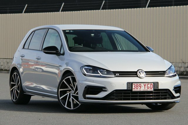 Used Volkswagen Golf 7.5 MY18 R DSG 4MOTION Grid Edition, 2017 Volkswagen Golf 7.5 MY18 R DSG 4MOTION Grid Edition White Silver 7 Speed