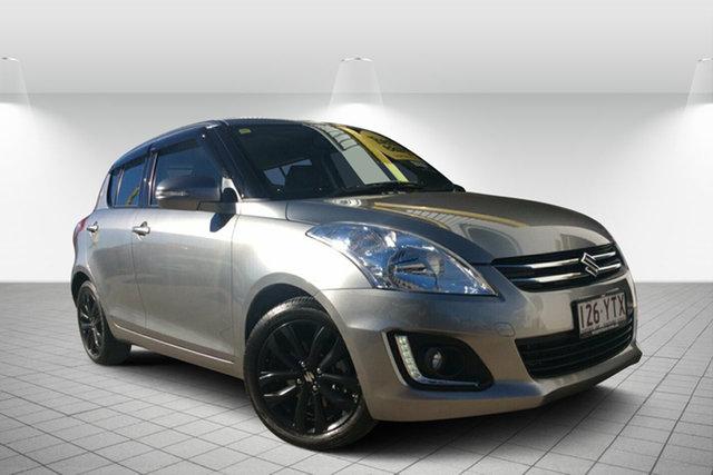 Used Suzuki Swift FZ MY15 GLX Navigator, 2015 Suzuki Swift FZ MY15 GLX Navigator Silver 4 Speed Automatic Hatchback