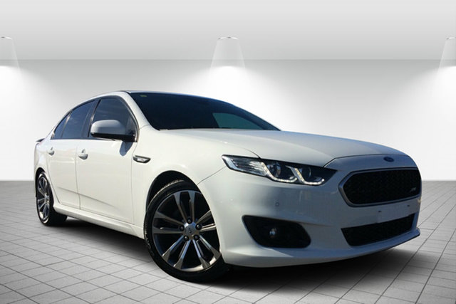 Used Ford Falcon FG X XR6, 2015 Ford Falcon FG X XR6 White 6 Speed Sports Automatic Sedan