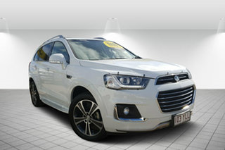 2018 Holden Captiva CG MY18 LTZ AWD White 6 Speed Sports Automatic Wagon.