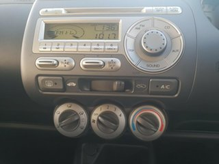 2005 Honda Jazz GD MY05 GLi Silver 5 Speed Manual Hatchback