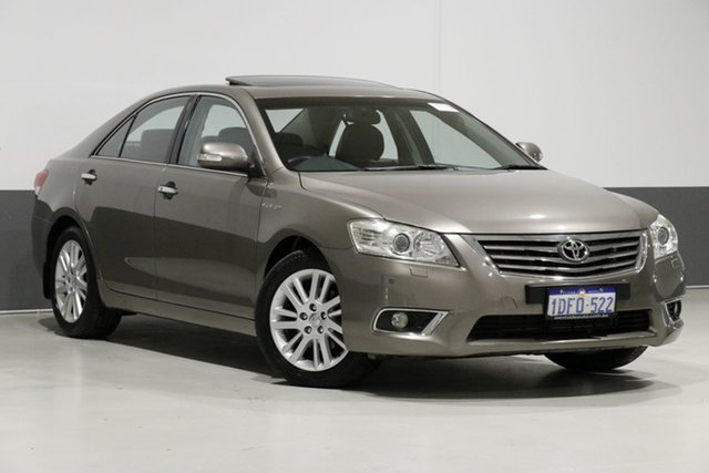 Used Toyota Aurion GSV40R 09 Upgrade Presara, 2009 Toyota Aurion GSV40R 09 Upgrade Presara Brown 6 Speed Auto Sequential Sedan