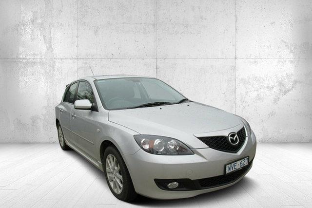 Used Mazda 3 BK10F2 MY08 Maxx Sport, 2008 Mazda 3 BK10F2 MY08 Maxx Sport Sunlight Silver 4 Speed Sports Automatic Hatchback