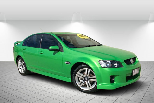 Used Holden Commodore VE MY09.5 SV6, 2009 Holden Commodore VE MY09.5 SV6 Green 5 Speed Sports Automatic Sedan