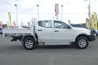 2016 Mitsubishi Triton MQ MY17 GLX+ Double Cab White 5 Speed Sports Automatic Utility.