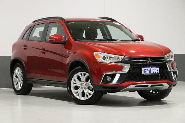 Used Mitsubishi ASX XC MY18 LS (2WD), 2018 Mitsubishi ASX XC MY18 LS (2WD) Red Continuous Variable Wagon