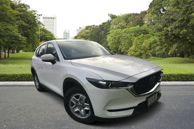 Demo Mazda CX-5 KF2W76 Maxx SKYACTIV-MT FWD, 2018 Mazda CX-5 KF2W76 Maxx SKYACTIV-MT FWD White Pearl 6 Speed Manual Wagon