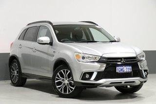 2018 Mitsubishi ASX XC MY19 ES (2WD) Silver Continuous Variable Wagon.