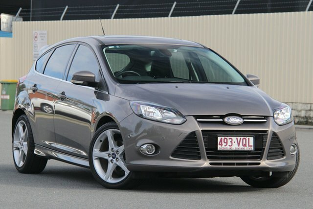 Used Ford Focus LW MkII Titanium PwrShift, 2014 Ford Focus LW MkII Titanium PwrShift Bronze 6 Speed Sports Automatic Dual Clutch Hatchback