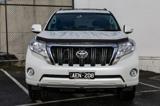 2015 Toyota Landcruiser Prado KDJ150R MY14 Altitude White 5 Speed Sports Automatic Wagon.
