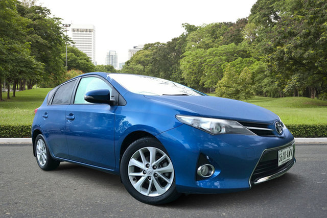 Used Toyota Corolla ZRE182R Ascent Sport, 2013 Toyota Corolla ZRE182R Ascent Sport Blue 6 Speed Manual Hatchback