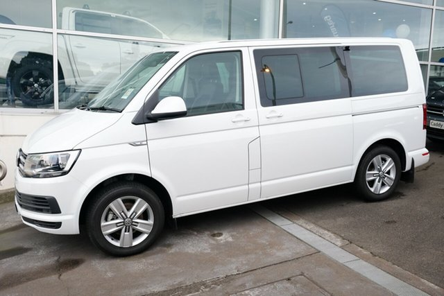 Demo Volkswagen Multivan T6 MY18 TDI340 SWB DSG Comfortline, 2018 Volkswagen Multivan T6 MY18 TDI340 SWB DSG Comfortline Oryx White Pearl 7 Speed