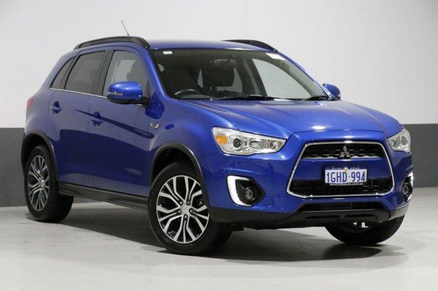 Used Mitsubishi ASX XC MY17 LS (4WD), 2016 Mitsubishi ASX XC MY17 LS (4WD) Blue 6 Speed Automatic Wagon