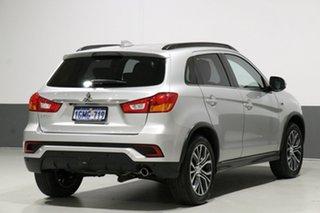 2018 Mitsubishi ASX XC MY19 ES (2WD) Silver Continuous Variable Wagon