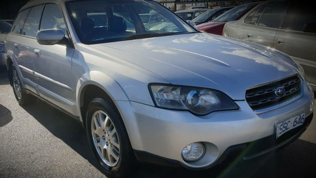 Used Subaru Outback B4A MY05 Premium Pack AWD, 2005 Subaru Outback B4A MY05 Premium Pack AWD Silent Silver 4 Speed Sports Automatic Wagon