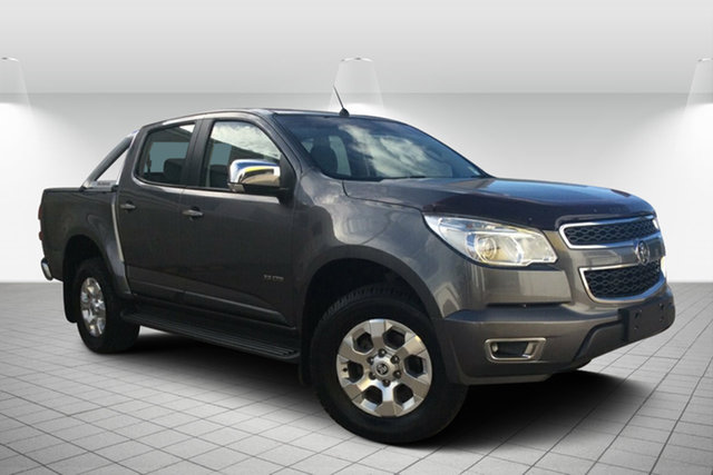 Used Holden Colorado RG MY13 LTZ Crew Cab, 2012 Holden Colorado RG MY13 LTZ Crew Cab Grey 6 Speed Sports Automatic Utility