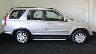 2005 Honda CR-V RD MY2005 Sport 4WD Silver 5 Speed Manual Wagon.
