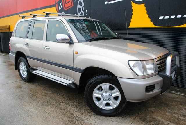 Used Toyota Landcruiser UZJ100R Kakadu, 2004 Toyota Landcruiser UZJ100R Kakadu Light Gold 5 Speed Automatic Wagon