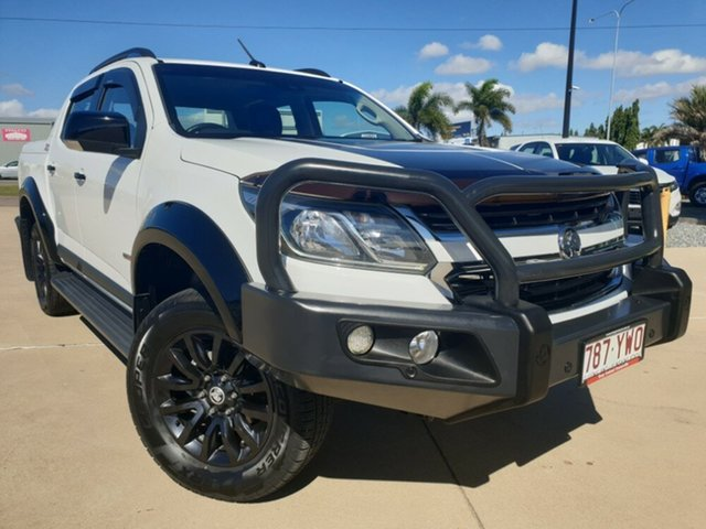 Used Holden Colorado RG MY17 Z71 Pickup Crew Cab, 2016 Holden Colorado RG MY17 Z71 Pickup Crew Cab White 6 Speed Sports Automatic Utility