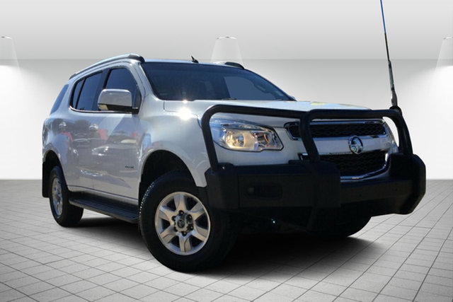 Used Holden Colorado 7 RG MY13 LT, 2013 Holden Colorado 7 RG MY13 LT White 6 Speed Sports Automatic Wagon