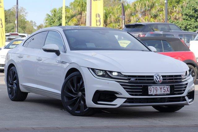 Used Volkswagen Arteon 3H MY18 206TSI Sedan DSG 4MOTION R-Line, 2017 Volkswagen Arteon 3H MY18 206TSI Sedan DSG 4MOTION R-Line White 7 Speed
