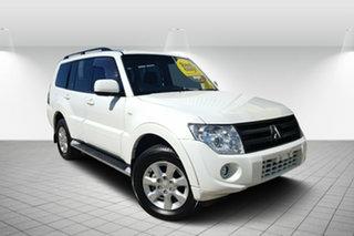 2012 Mitsubishi Pajero NW MY12 GLX White 5 Speed Sports Automatic Wagon.