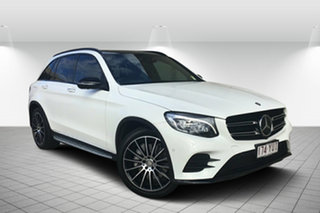 2016 Mercedes-Benz GLC-Class X253 GLC250 d 9G-Tronic 4MATIC White 9 Speed Sports Automatic Wagon
