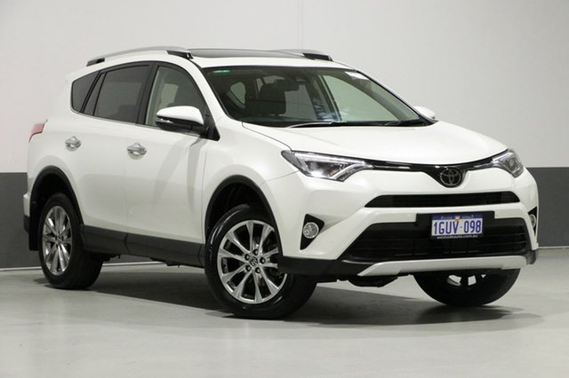 Used Toyota RAV4 ASA44R MY16 Cruiser (4x4), 2016 Toyota RAV4 ASA44R MY16 Cruiser (4x4) Pearl White 6 Speed Automatic Wagon