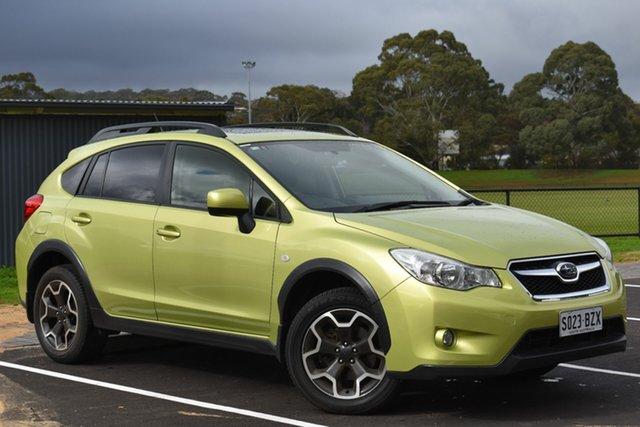 Used Subaru XV G4X MY14 2.0i-L Lineartronic AWD, 2014 Subaru XV G4X MY14 2.0i-L Lineartronic AWD Green 6 Speed Constant Variable Wagon