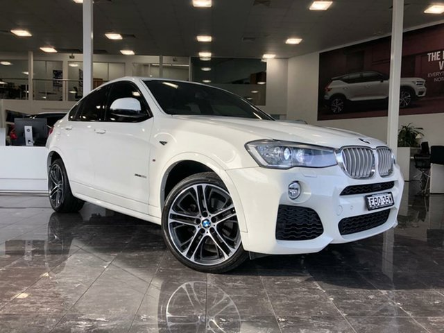Used BMW X4 F26 MY16 xDrive 35D, 2016 BMW X4 F26 MY16 xDrive 35D White 8 Speed Automatic Coupe