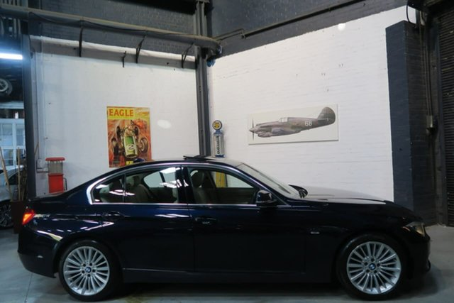 Used BMW 328i F30 MY0812 , 2012 BMW 328i F30 MY0812 Blue 8 Speed Sports Automatic Sedan