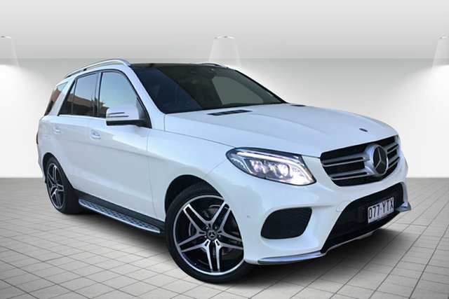 Used Mercedes-Benz GLE350 W166 807MY d 9G-Tronic 4MATIC, 2017 Mercedes-Benz GLE350 W166 807MY d 9G-Tronic 4MATIC White 9 Speed Sports Automatic Wagon