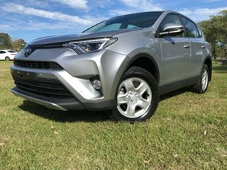 2017 Toyota RAV4 ASA44R GX AWD Silver Sky 6 Speed Sports Automatic Wagon