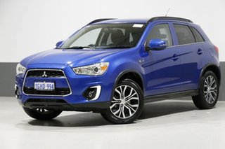 2016 Mitsubishi ASX XC MY17 LS (4WD) Blue 6 Speed Automatic Wagon.