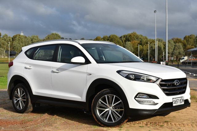 Used Hyundai Tucson TL Active X 2WD, 2015 Hyundai Tucson TL Active X 2WD Pure White 6 Speed Manual Wagon