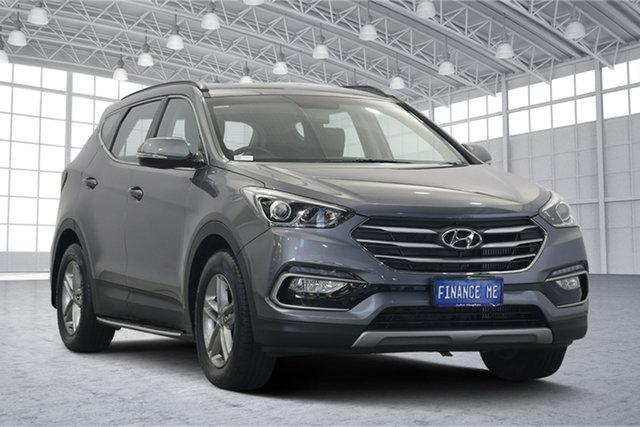 Used Hyundai Santa Fe DM3 MY17 Active, 2016 Hyundai Santa Fe DM3 MY17 Active Titanium Silver 6 Speed Sports Automatic Wagon