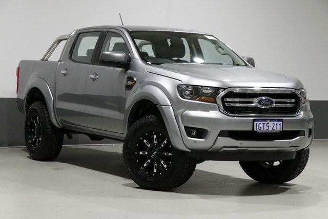 Used Ford Ranger PX MkIII MY19 XLS 3.2 (4x4), 2019 Ford Ranger PX MkIII MY19 XLS 3.2 (4x4) Silver 6 Speed Automatic Double Cab Pickup
