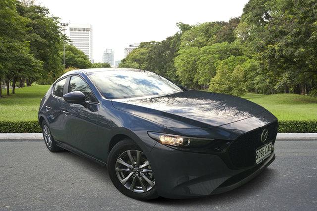 Demo Mazda 3 BP2H76 G20 SKYACTIV-MT Pure, 2019 Mazda 3 BP2H76 G20 SKYACTIV-MT Pure Polymetal Grey 6 Speed Manual Hatchback