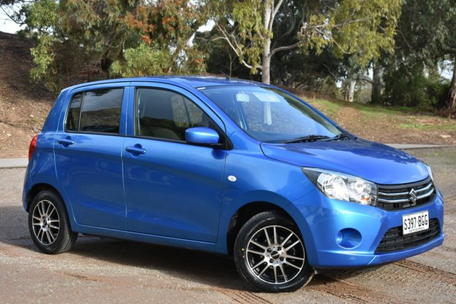 Used Suzuki Celerio LF , 2015 Suzuki Celerio LF Blue 5 Speed Manual Hatchback